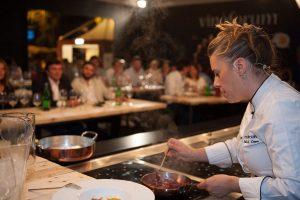 """""""Cucine a vista"""" con chef stellati e calici di Champagne nella Capitale con Vinofòrum"""