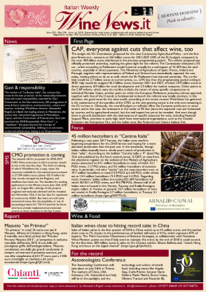 Italian Weekly Wine News N. 370