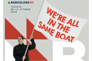"""We are all in the same boat"", la Abramovich firma il manifesto di Barcolana, insieme a illy"