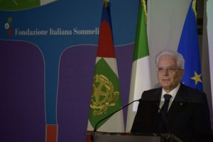 """The success of Italian wine is a reminder that we need open markets"", said Mattarella"