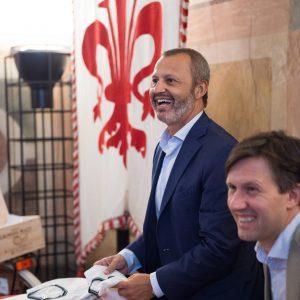 """Il bere responsabile secondo """"Ruffino Cares"""": l'ad Sandro Sartor ed il pr Francesco Sorelli"""