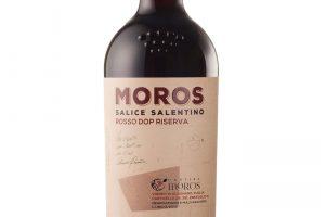 Cantina Moros, Dop Salice Salentino Rosso Riserva Moros 2015