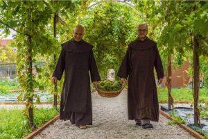 Il vino sacro arriva dalle uve raccolte dai propri filari dai Carmelitani Scalzi di Venezia
