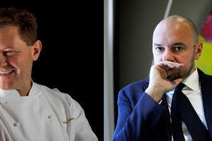 Il pranzo di Ferragosto di WineNews con lo chef Chicco Cerea e il sommelier Giuseppe Palmieri