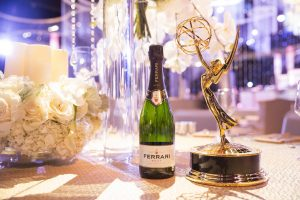 Emmy Awards toasting (again) with Ferrari