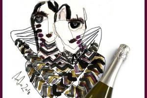 Vino e design: le etichette di Sella & Mosca (Terra Moretti) firmate da Antonio Marras