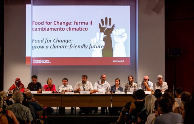 FOOD FOR CHANGE, SLOW FOOD, TERRA MADRE SALONE DEL GUSTO, Mondo