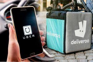 Uber mette gli occhi su Deliveroo: si parla di una possibile acquisizione da 2 miliardi di dollari