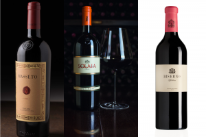 "Masseto 2015, Solaia 2015 and Biserno 2015, the ""Wine Advocate"" set of Super Tuscans"