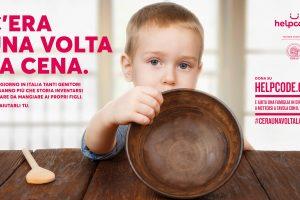 """""""C'era una volta una cena"""", al via la campagna contro la malnutrizione infantile"""