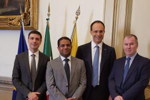 """Il made in Itay agroalimentare vola in Qatar: firmato accordo tra Coldiretti e """"Lulu Group"""""""