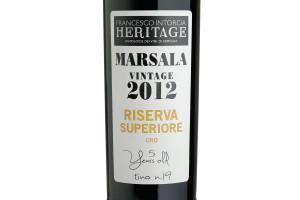 Intorcia, Doc Marsala Superiore Oro Riserva 2012