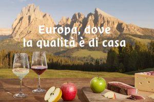L'Alto Adige fa sistema, con le sue eccellenze Dop e Igp: vino, mele, speck e formaggio