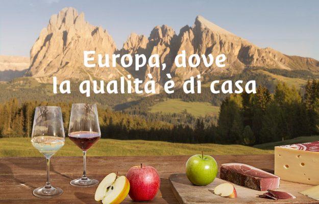 ALTO ADIGE, CAMPAGNA PROMOZIONALE, DOP, FORMAGGIO, IGP, MELE, SPECK, vino, Italia