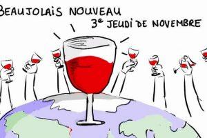 Il 15 novembre si rinnova la festa del Beaujolais Nouveau in 110 Paesi in tutto il mondo