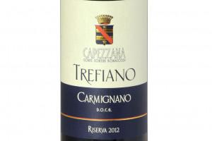 Capezzana, Docg Carmignano Trefiano Riserva 2012