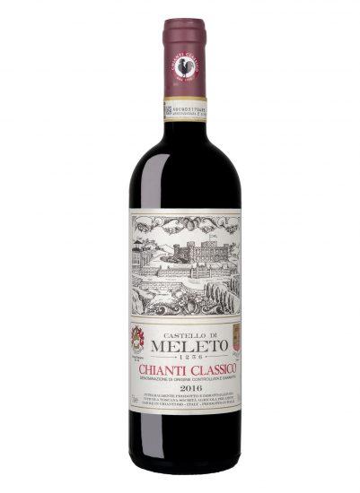 CASTELLO DI MELETO, CHIANTI CLASSICO, GAIOLE IN CHIANTI, Su i Vini di WineNews