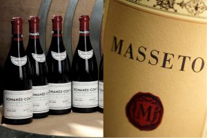 Romanée-Conti is the most expensive in the world, and Masseto is number one in Italy