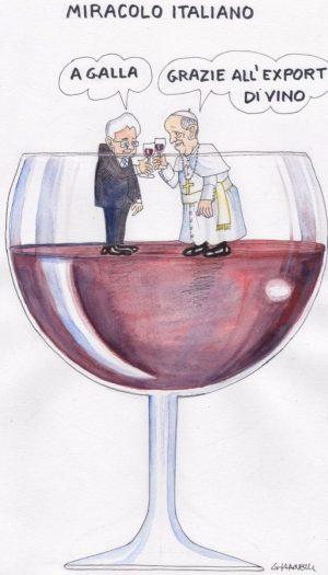 Affidare alla satira graffiante, un messaggio sul vino e l'attualità: ecco Spirito di Vino 2018