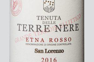 """""""Top 100"""" Wine Spectator, subito Italia: l'Etna San Lorenzo 2016 di Tenuta delle Terre Nere al n. 9"""