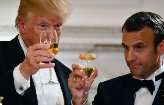 DONALD TRUMP, EMMANUEL MACRON, FRANCE, USA, WINE TARIFFS, News