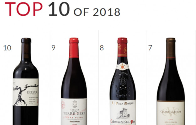 TOP 100, WINE SPECTATOR, Mondo