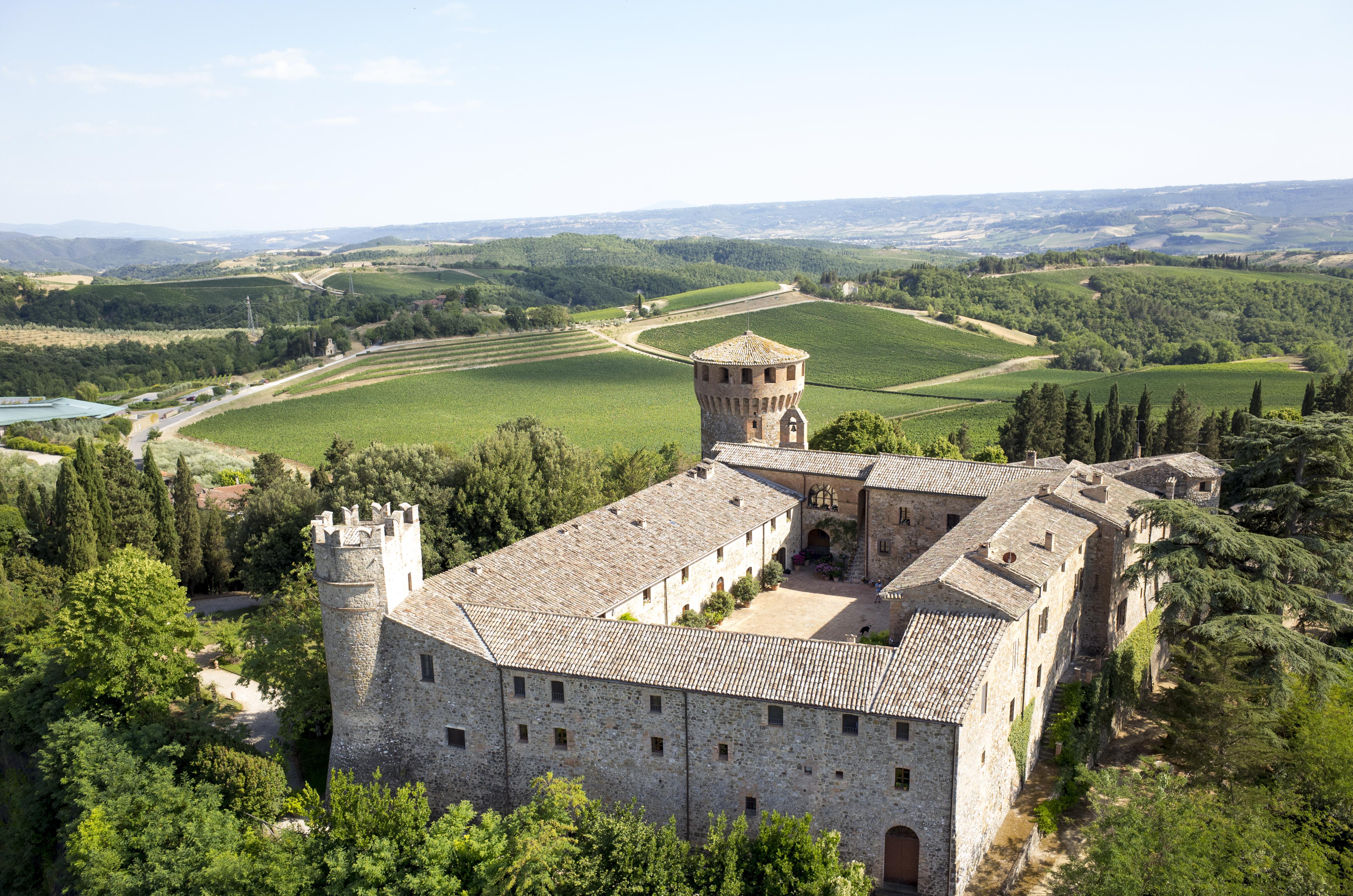 Il Castello della Sala di Antinori, dove nasce il Cervaro della Sala