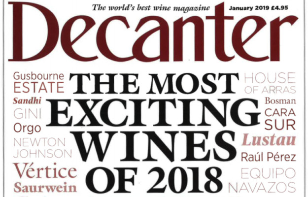 DECANTER, FERRARI, GINI, LE DUE TERRE, SANTA MARIA LA NAVE, TOP 50, News