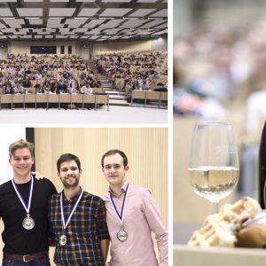 Un corso di degustazione da Guinness World Records: 309 studenti in contemporanea in Belgio