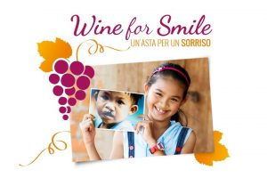 """Wine for Smile"", oggi torna di scena a Roma l'asta benefica by Operation Smile Italian Onlus"