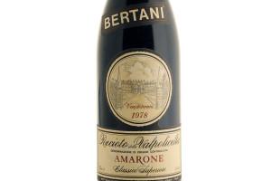 Bertani, Doc Recioto della Valpolicella Amarone Classico Superiore 1978
