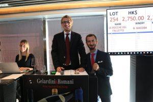 2018 da incorniciare per le aste di vino, e l'Italia cresce: il punto di vista di Gelardini & Romani