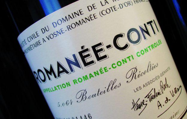 DOMAINE DE LA ROMANÉE-CONTI, LUSSO, vino, WINE SEARCHER, Mondo