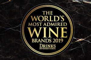 """Sassicaia, Tignanello (Antinori) e Cavit: l'Italia nella """"The World Most Admired Wine Brands 2019"""""""