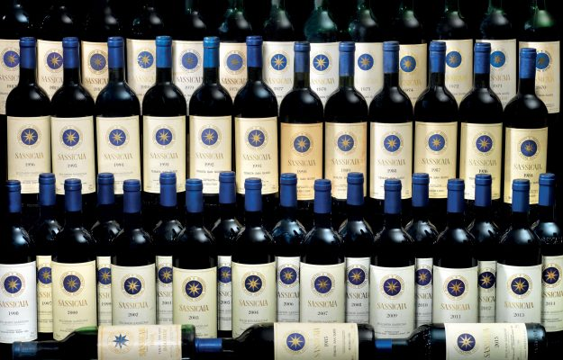 GENTLEMAN, ROSSI, SASSICAIA 2016, TOP100, vino, Italia