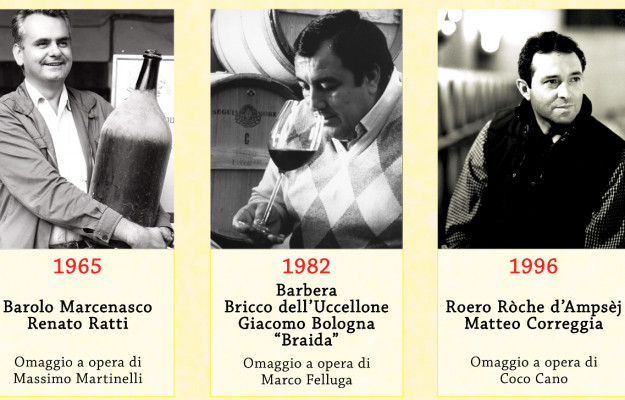 BAROLO, BRAIDA, CORREGGIA, HALL OF FAME, RATTI, WIMU, WINE, News