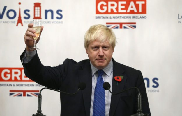 BORIS JOHNSON, BREXIT, PROSECCO, TIGNANELLO, UK, Mondo