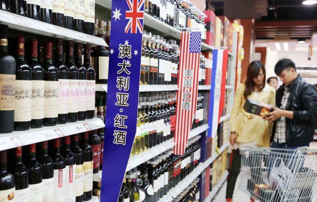 AUSTRALIA, CINA, EXPORT, ITALIA, NOMISMA WINE MONITOR, vino, Mondo