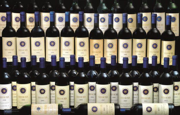 GENTLEMAN, red wine, SASSICAIA 2016, TOP 100, WINE, News
