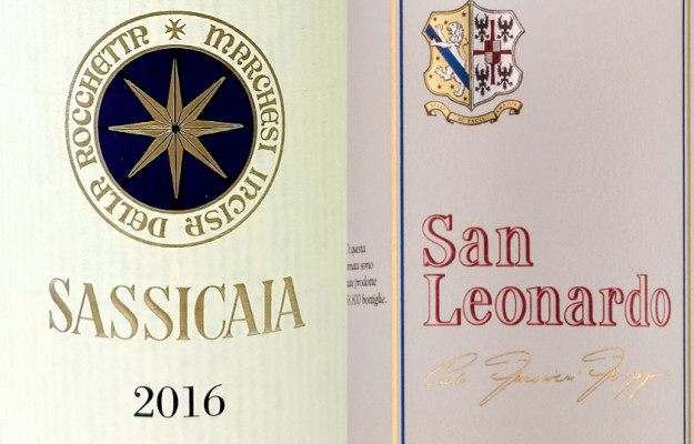 GUIDE, SAN LEONARDO, SASSICAIA, WINE, News