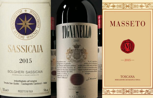 ITALIAN WINES, MASSETO, SASSICAIA, TIGNANELLO, WINE SEARCHER, News