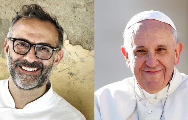 MAssimo Bottura, Pope Francis, News
