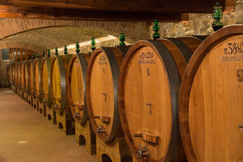 1,2 miliardi di euro il valore stimato del Brunello di Montalcino nelle cantine del territorio