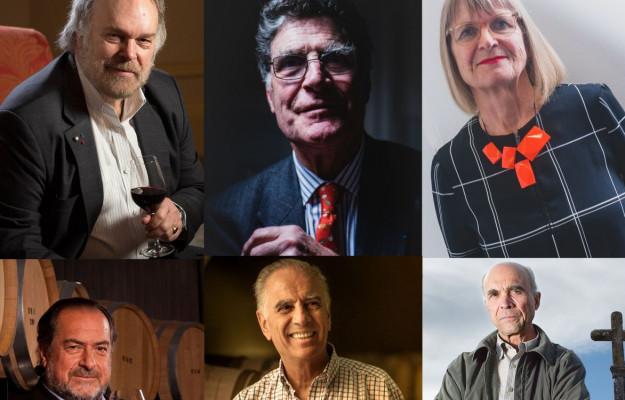 ALEJANDRO BULGHERONI, AUBERT DE VILLAINE, BOURGUIGNON, BURTON ANDERSON, JAMES SUCKLING, JANCIS ROBINSON, MICHEL ROLLAND, RéMI KRUG, ROBERT PARKER, THOMAS MATTHEWS, Mondo