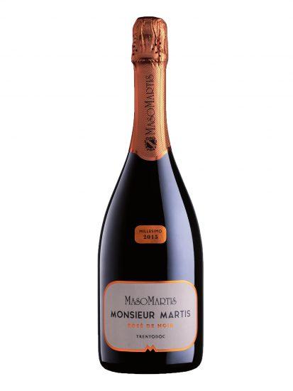 BRUT ROSÉ, MASO MARTIS, PINOT MEUNIER, TRENTO, Su i Vini di WineNews