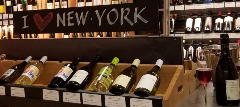 Tra dazi e Covid, nei wine shop di New York si continua a comprare vino, e l'Italia resiste