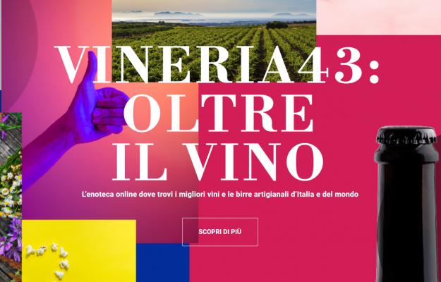 E-COMMERCE, ENOTECA, GRUPPO SCHENK, VINERIA43, Italia