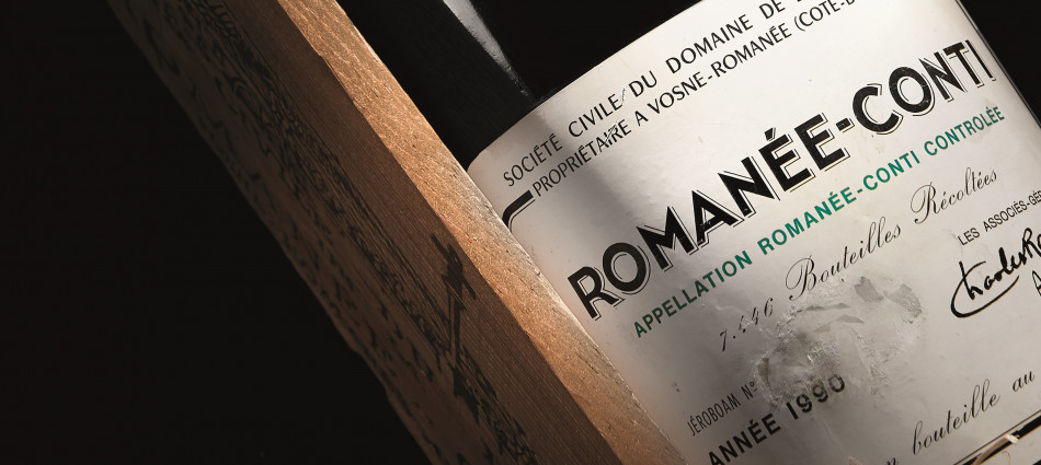 100,000 euro for a double magnum of Romanée Conti 1990 in the Bolaffi auction, record in Italy