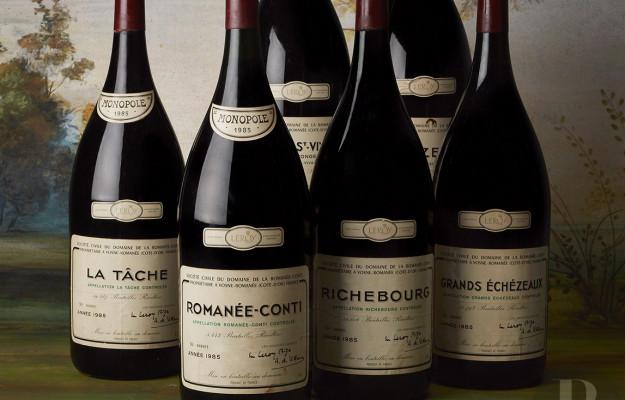 AUCTIONS, BAGHERA WINES, DOMAINE DE LA ROMANÉE-CONTI, PINCHIORRI, WINE, News