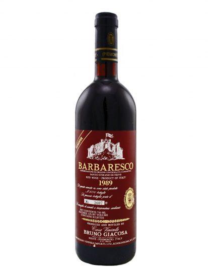 BARBARESCO, BRUNO GIACOSA, NEBBIOLO, Su i Vini di WineNews